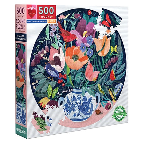 Still Life with Flowers Puzzle