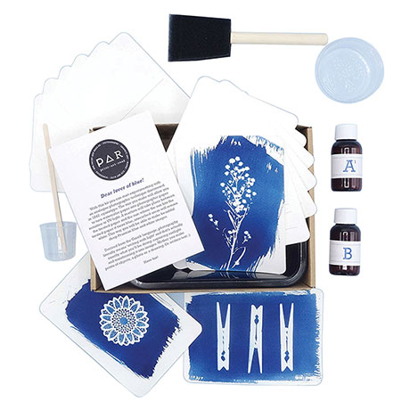 Cyanotype Postcard Kit