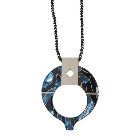 Art Deco Magnifier Necklace