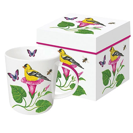 Floral Nest Mugs - Morning Glory