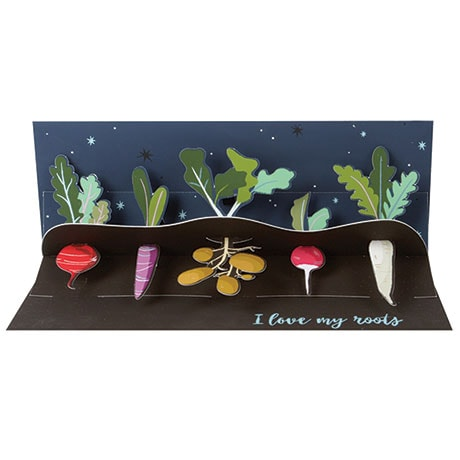 Love My Roots Mother's Day Panoramic Pop-Up Card