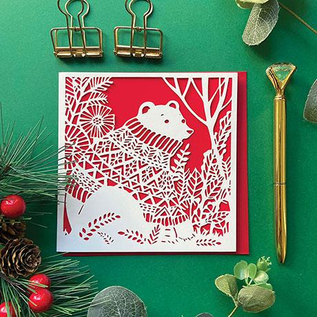 Cozy Animals Christmas Cards