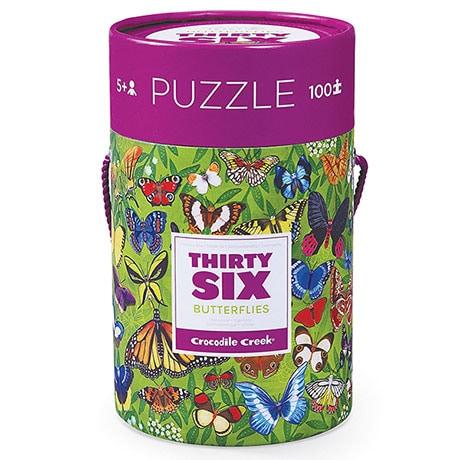 36 Butterflies Puzzle