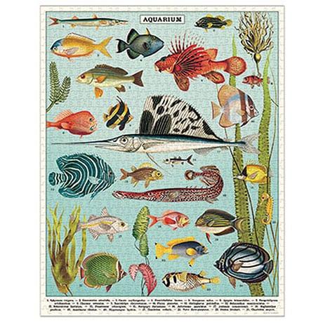 Aquarium Vintage Puzzle