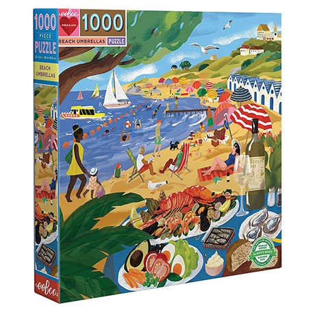 Beach Umbrellas Puzzle