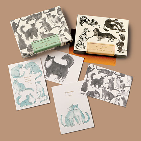 Dogs Friendship Note Cards