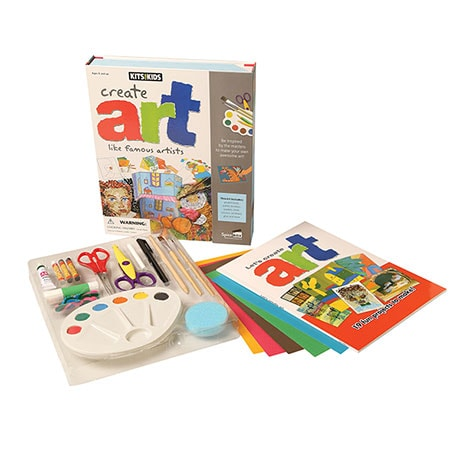 Create Art Like Famous Artists Kit