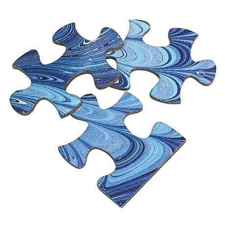 Florentine Blue Puzzle
