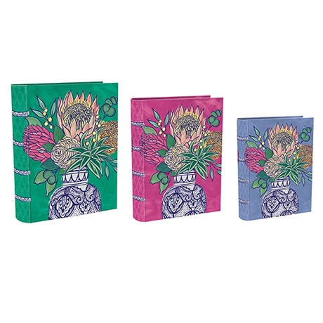 Flowers and Vases Nesting Boxes