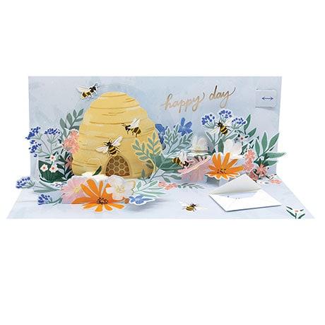 Honeybees Pop-Up Card