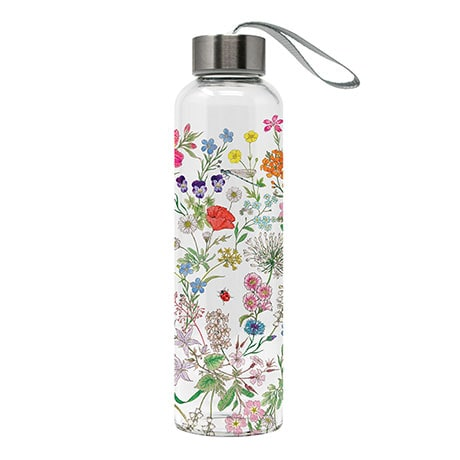Nature Romance Glass Bottle