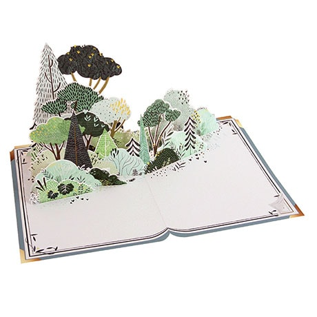 New Chapter Pop-Up Card