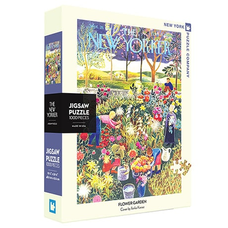 The New Yorker Flower Garden Puzzle