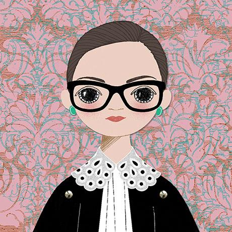 Paper Doll Card: Ruth