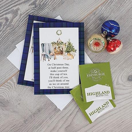 Scottish Tea Christmas Cards