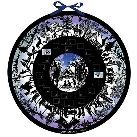 Story of Christmas Silhouette Advent Calendar