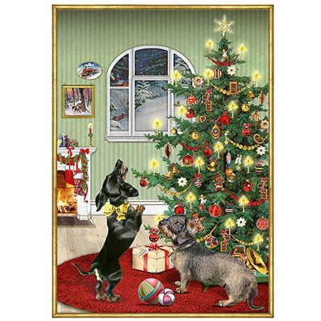 Festive Dogs Advent Calendar