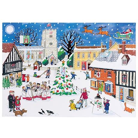 Christmas in the Village Advent Calendar