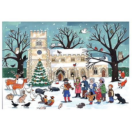 Winter Wildlife Advent Calendar