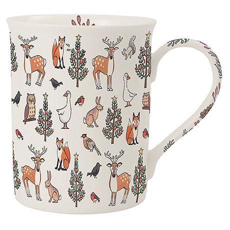 Winter Wildlife Mug