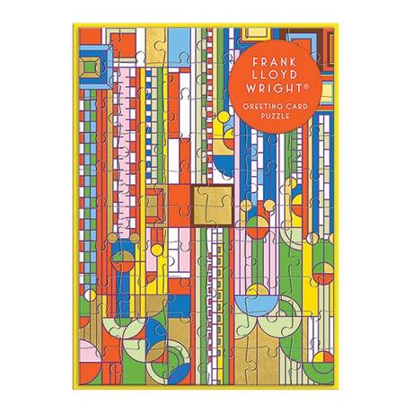 Frank Lloyd Wright Greeting Card Puzzle