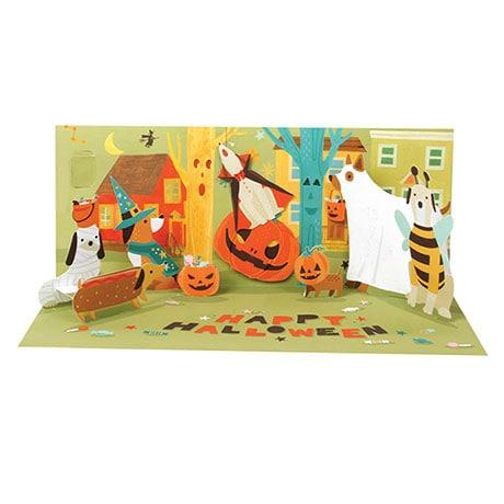 Howling Halloween Audio Pop-Up Card