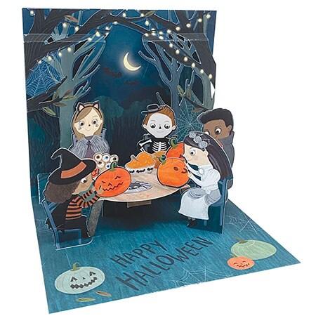 Spooky Gathering Pop-Up Card