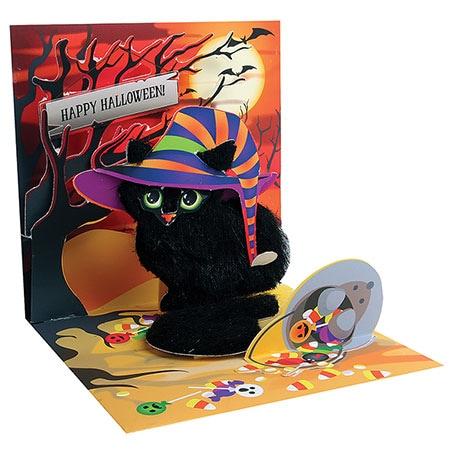 Spooky Cat Pop-Up Card