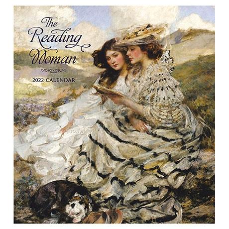 2022 Reading Woman Wall Calendar