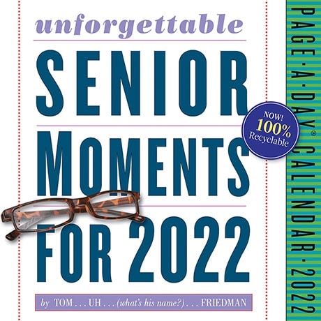 2022 Unforgettable Senior Moments Page-a-Day Calendar
