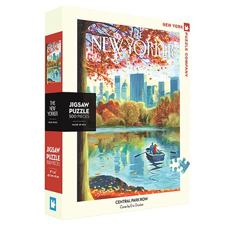 Central Park Row New Yorker Puzzle
