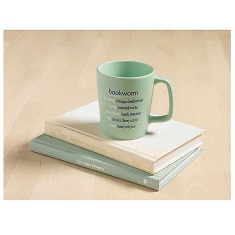 International Bookworm Mug