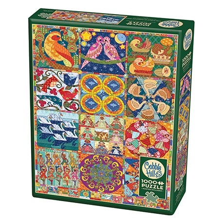12 Days of Christmas Quilt Puzzle