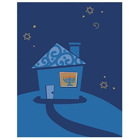 Chanukah House Cards