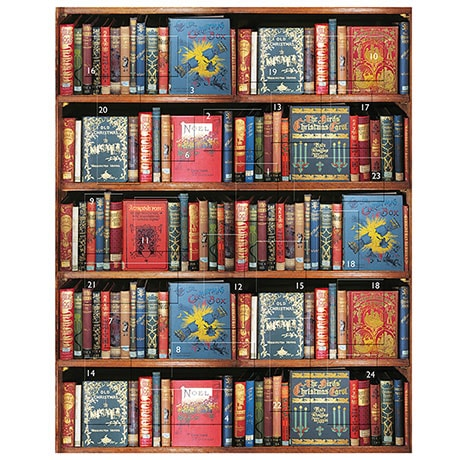 Christmas Bookshelf Advent Calendar