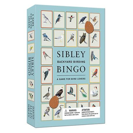 Sibley's Backyard Birding Bingo