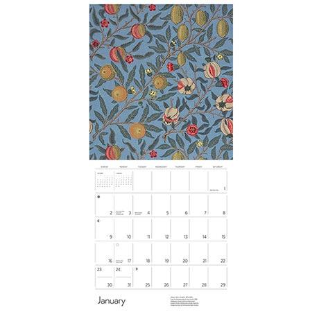 2022 William Morris Wall Calendar