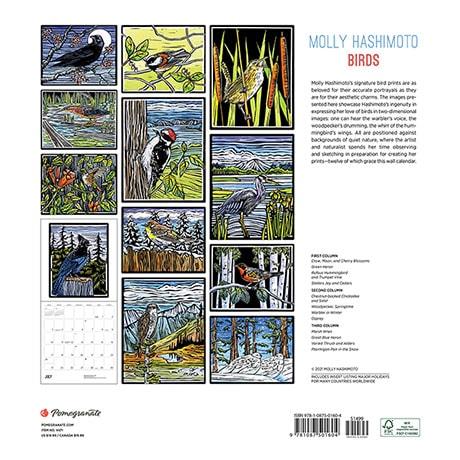 2022 Hashimoto Birds Calendar