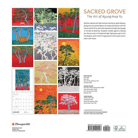 2022 Sacred Grove Calendar