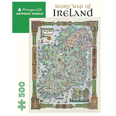 Story Map of Ireland Puzzle
