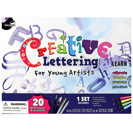 Creative Lettering for Young Artists