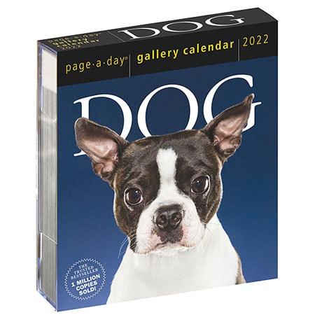 2022 Gallery Dog Calendar