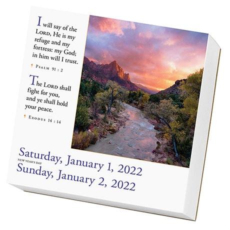 2022 365 Bible Verses Calendar