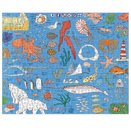 Ocean Anatomy Puzzle