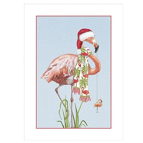 Flamingo Christmas Cards