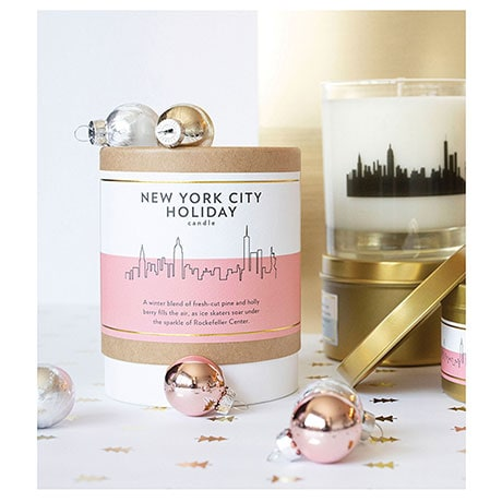 New York City Holiday Candle
