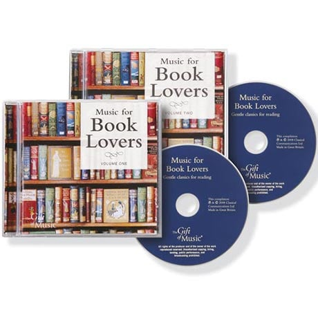 Music for Book Lovers Boxed Two-CD Set: Gentle Classics for Reading