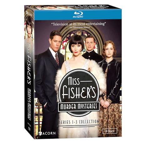 Miss Fisher's Murder Mysteries Boxed Set: Season 1-3 DVD/Blu-ray