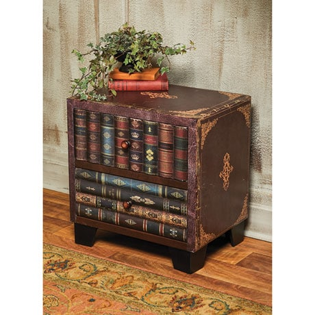 Vintage Books Two-Drawer Cabinet