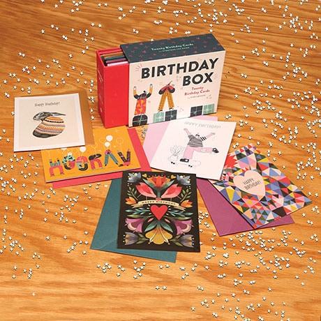 Birthday Cards Box